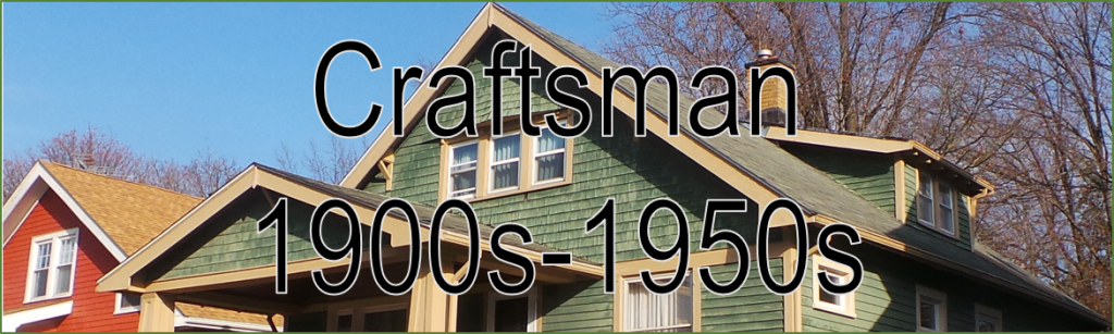 Image Banner Headline Craftsman 1900s - 1950s