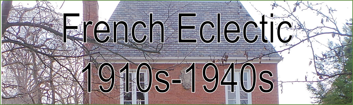 Image Banner Headline French Eclectic 1910s - 1940s