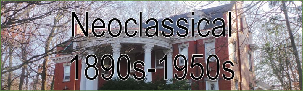 Image Banner Headline Neoclassical 1890s - 1950s