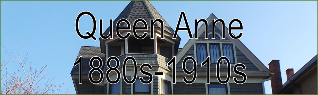 Image Banner Headline Queen Anne 1880s- 1910s