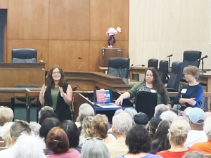 Image of Heritage Home Program presenting at a city hall